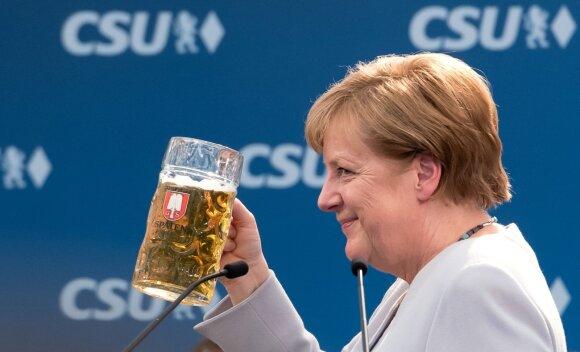 A. Merkel alaus šventėje
