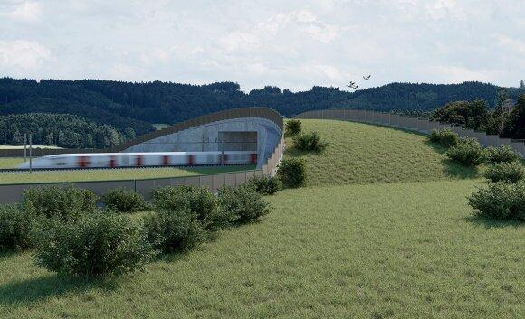 """Rail Baltica"" tiltas gyvūnams"