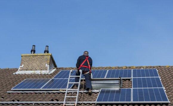Norintiems įsirengti saulės elektrinę – gera žinia: dar turite laiko pasinaudoti valstybės parama