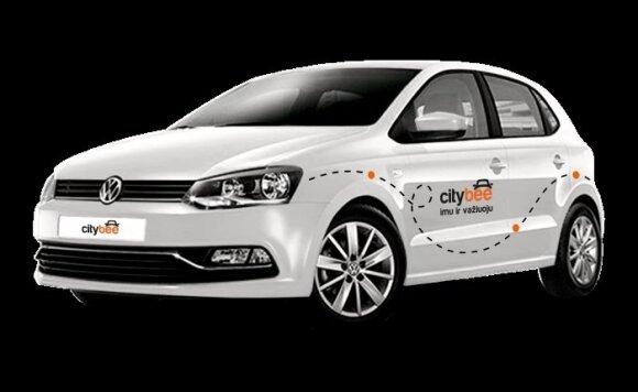 """CityBee"" kompanijos ""Volkswagen Polo"""