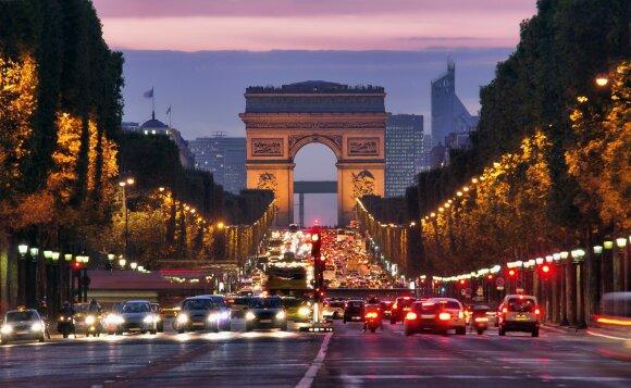 Paryžius, Eliziejaus laukai