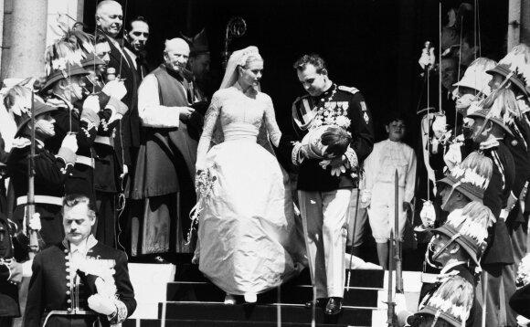 Princo Rainier III ir Grace Kelly vestuvės