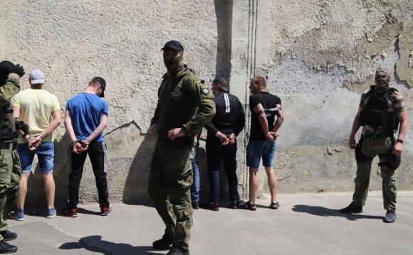 Riaušės Ukrainos pataisos namuose