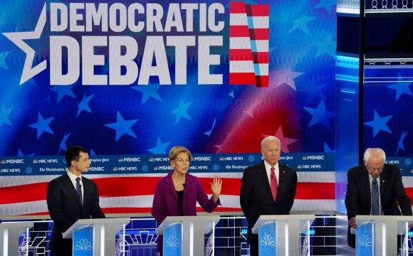 Demokratų partijos kandidatų debatai