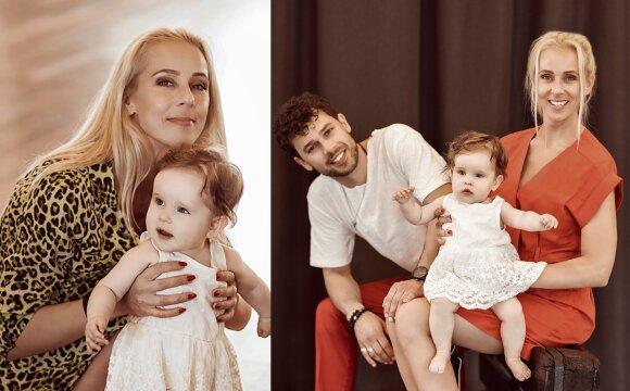 Ineta Stasiulytė su šeima