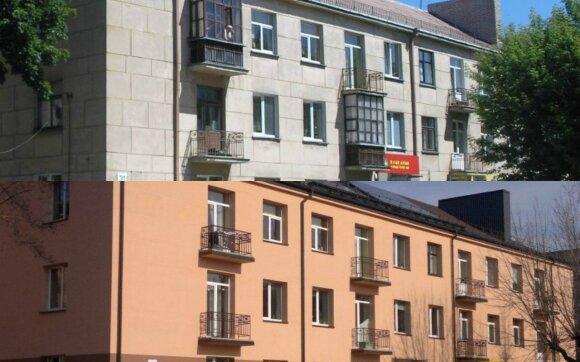 Renovuotas namas Panevėžyje Marijonų g. 31