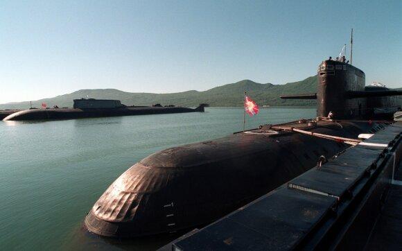 Rusijos povandeniniai laivai