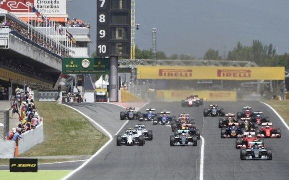 Ispanijos GP etapas