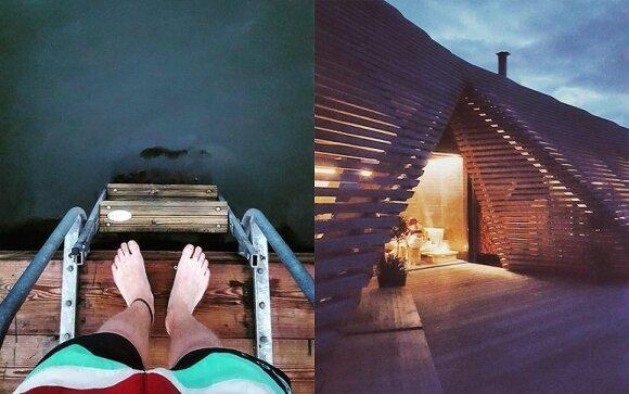 Viešosios saunos malonumai, asm. archyv. nuotr.