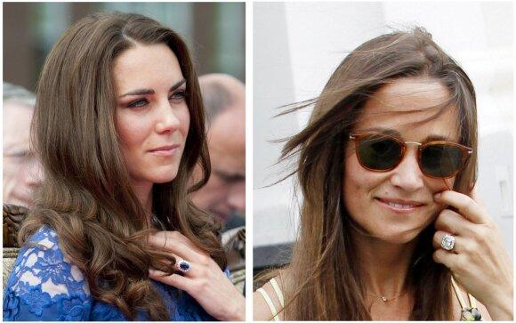 """Kaip <span style=""""color: #c00000;"""">Kate Middleton</span> sesuo <em>perspjovė</em> ją prabanga ir turtais"""