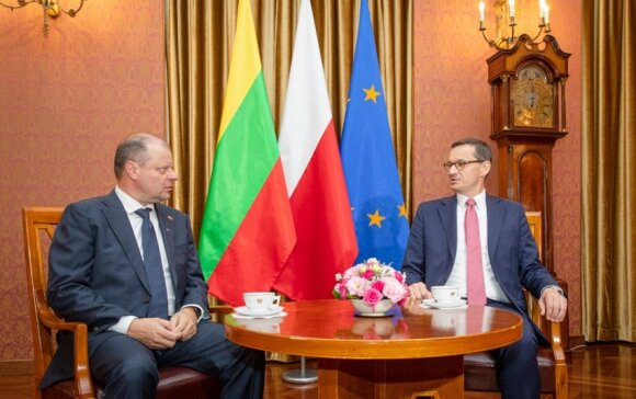 Премьер: дружба Литвы и Польши гарантируют, что страны Балтии не будут островом в Европе