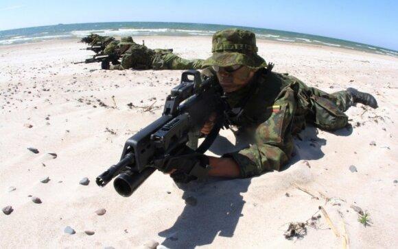 NATO šalia Lietuvos imasi veiksmų, kokių nebuvo dešimtmečius