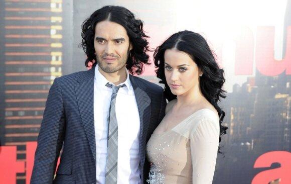 Russelas Brandas ir Katy Perry