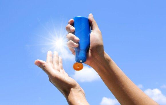 Apsaugos nuo saulės priemonės