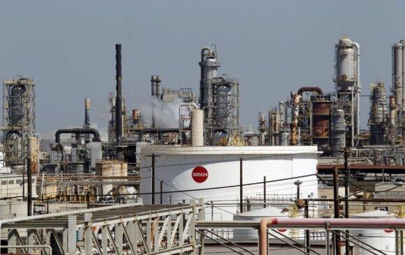 """ExxonMobil"" naftos perdirbimo gamykla"