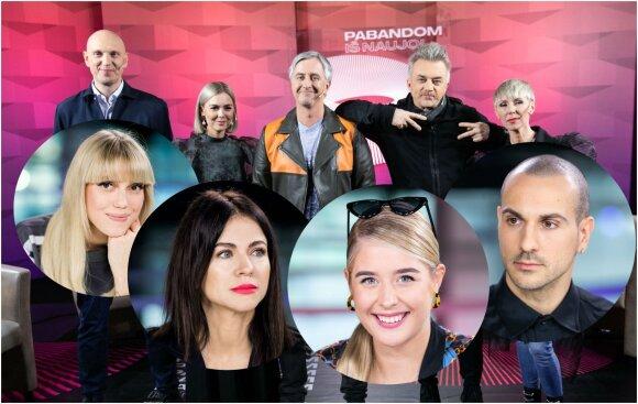 Nacionalinių Eurovizijos atrankų dalyviai ir komisija