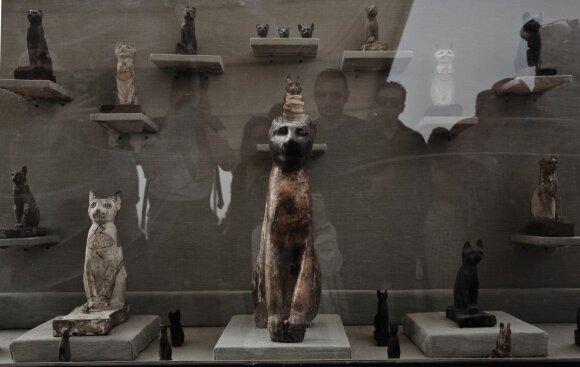Kačių statulėlės