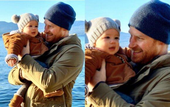 Princas Harry su sūnumi