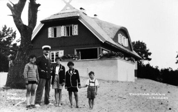 T. Mannas su vaikais