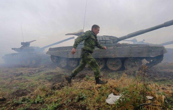 Donecko separatistų įžymybė perbėgo į Kijevo pusę, kalba apie didelės invazijos planus