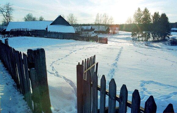 Zervynos, Varėnos rajonas. 1999 m.