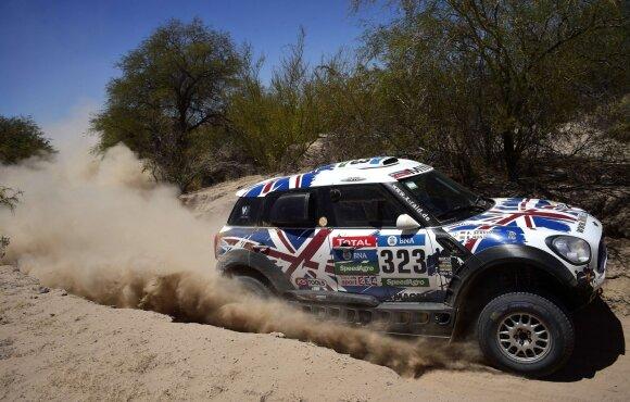 Harry Hunt 2016-ųjų Dakaro ralyje