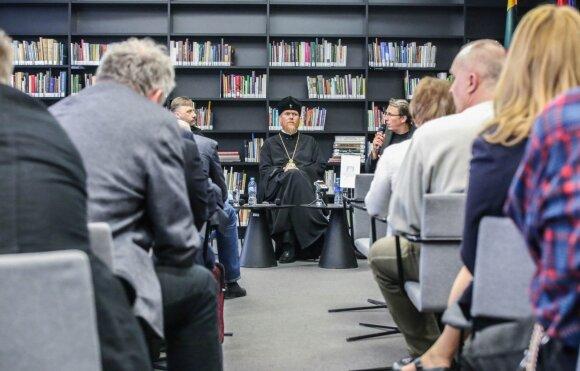 Встреча с украинскими священниками в Литовской национальной библиотеке им.М.Мажвидаса