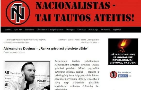 Lietuvoje susekti terorizmo kurstymu įtariami V. Putino gerbėjai