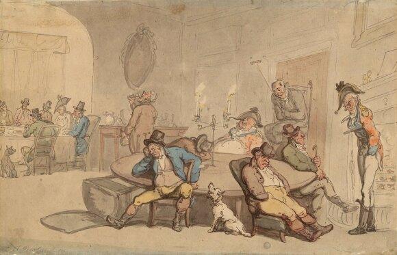 18th century  Scottish Gentlemen's Club