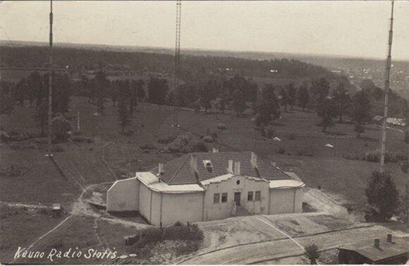 Kauno radijo stotis (Kauno tvirtovės VII forto muziejaus rinkinių archyvo nuotr.)