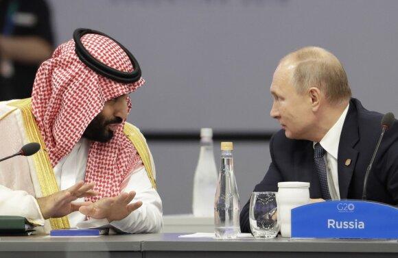 Mohammedas bin Salmanas, Vladimiras Putinas