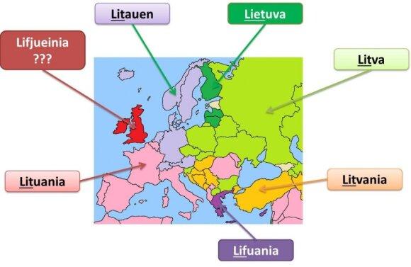 Siūlo vytis estus ir keisti Lietuvos pavadinimą