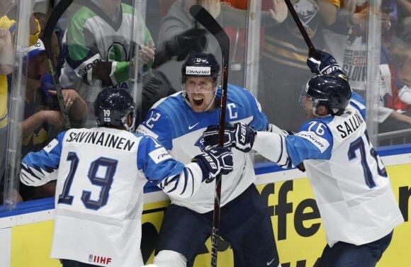 Suomijos ledo ritulio rinktinė
