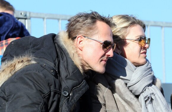 Michaelis Schumacheris su žmona Corinna