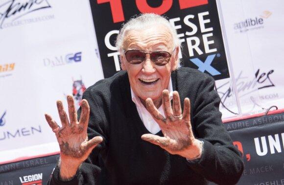 Liūdna žinia tūkstančiams jo talento gerbėjų: mirė žymus JAV kūrėjas Stan Lee