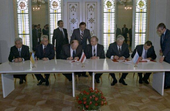 Станислав Шушкевич: в Беловежской пуще не было ни одного пьяного
