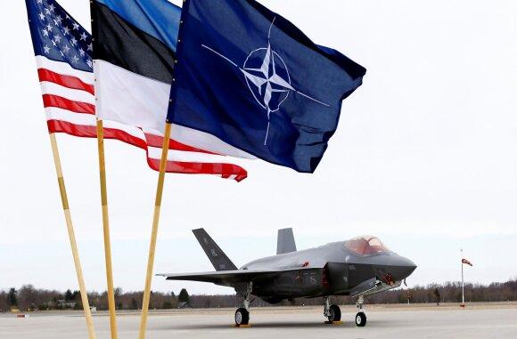 Naikintuvas F-35 Estijoje