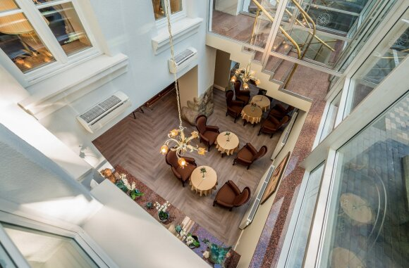 Rotonda Centrum Hotels po renovacijos