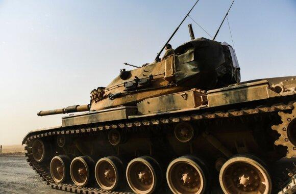 R. T. Erdogano operacija Sirijoje: viskas pasikeitė po perversmo