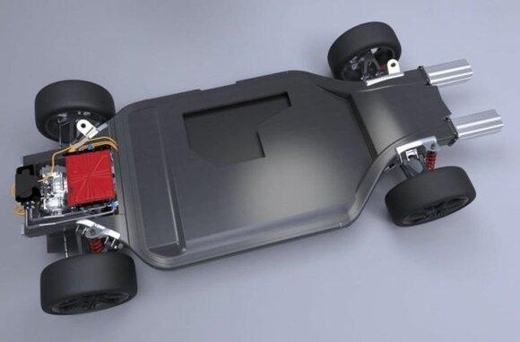"""Williams"" elektromobilio modulinė platforma"