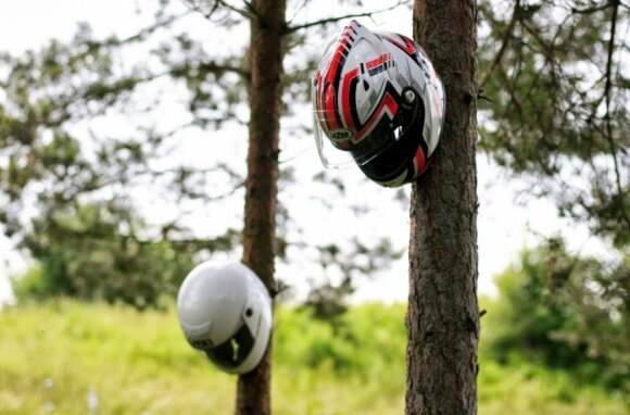 1000 kilometrų kelionė: kaip motociklais Lietuvą apžiūrinėjome