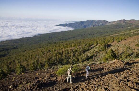 10 kitokių kelionių po Tenerifės salą