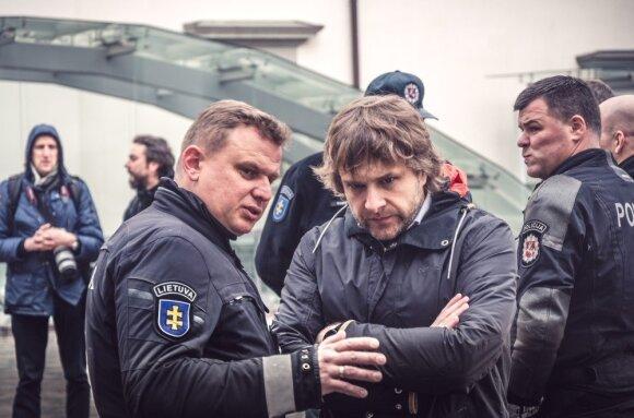 Vytautas Grašys ir Benediktas Vanagas