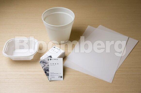 Japonų startuolis ieško finansavimo: popierių gamins iš akmens