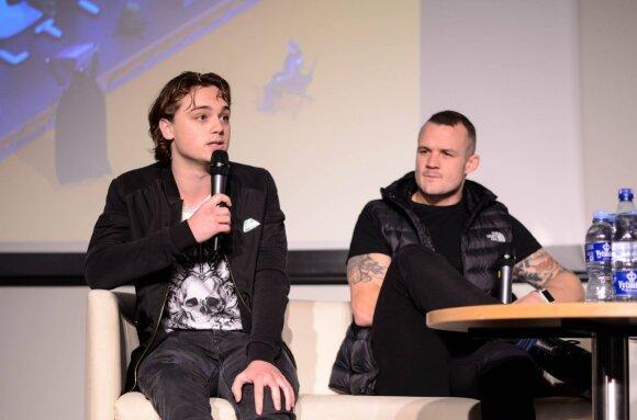 Dean-Charles Chapman Vilniue /Foto: Comic Con Baltics
