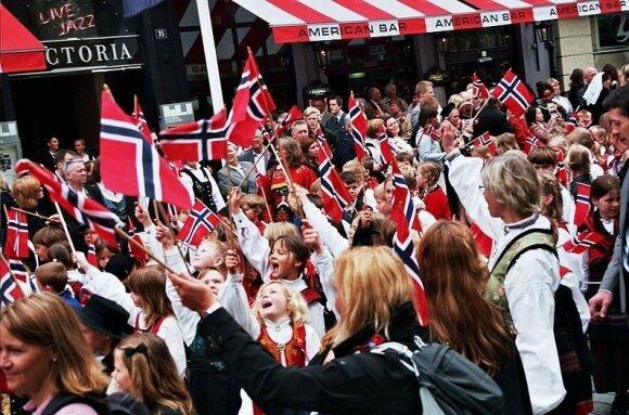 Kodėl lietuviai švenčia kitaip nei norvegai?