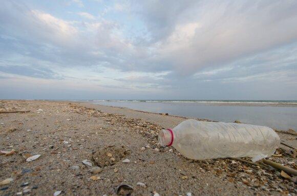 Butelis paplūdimyje