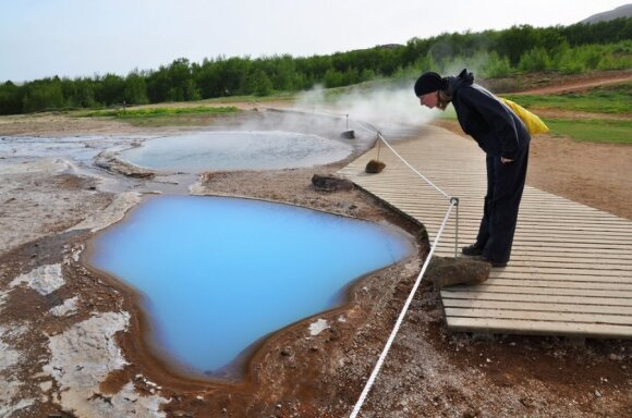 Islandijos karštosios versmės