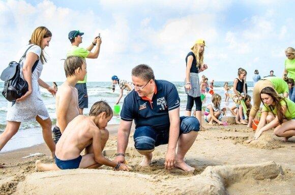 Palanga vėl kvies Lietuvos vaikus pirmą kartą išvysti jūrą