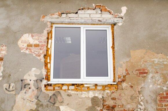 Nors dauguma daugiabučių dar nerenovuoti, tačiau beveik visi jų langai jau pakeisti